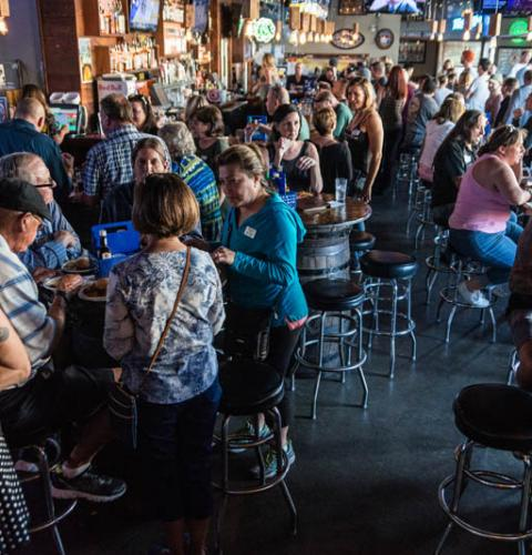 Photo of: OBMA Member Event: Sundowner at Mother's Saloon