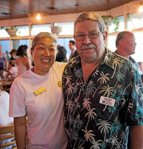 Photo of: OBMA Member Event: Sundowner at Shades with Ocean Dental Care