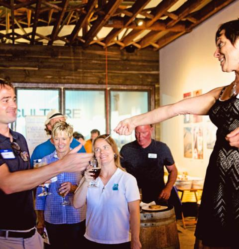 Photo of: OBMA Member Event: Sundowner at Culture Brewing Co with Mad Munch