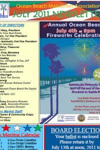 Ocean Beach MainStreet Association July 2011 Newsletter