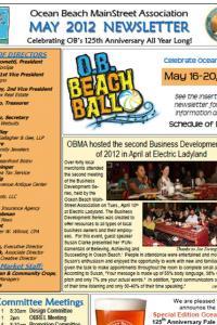 Ocean Beach MainStreet Association May 2012 Newsletter
