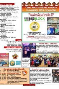November 2015 OBMA Newsletter
