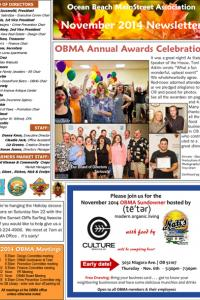November 2014 Ocean Beach MainStreet Association Newsletter