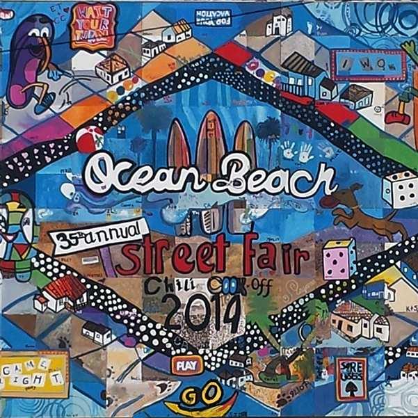 Community Murals of Ocean eBach San Diego California