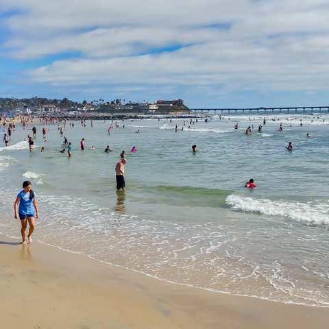 Voltaire Avenue Beach Ocean San Go California