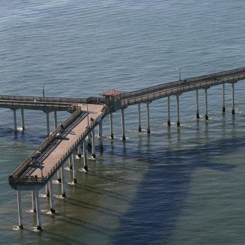 Aerial Pier Photos from Teyssier & Teyssier