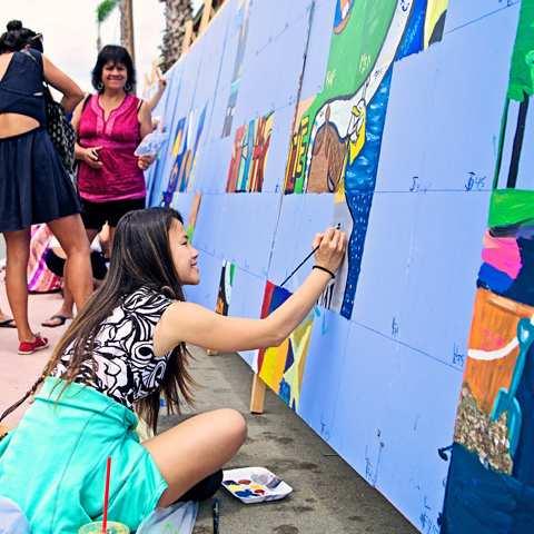 Community Murals of Ocean Beach San Diego