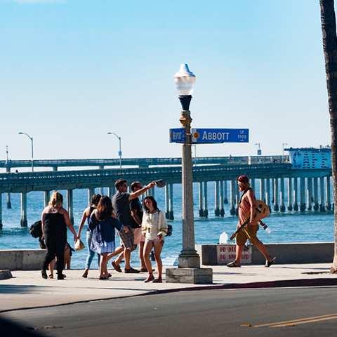 Newport Avenue Beach