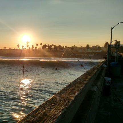OB Pier Sunrise