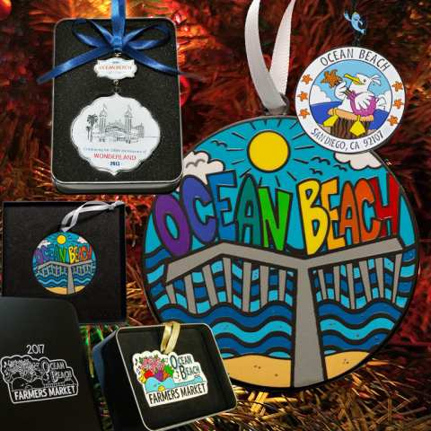 Ocean Beach Product: OB 2014 Ornament