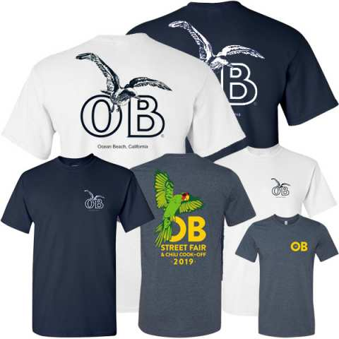 Ocean Beach Product: T-Shirts