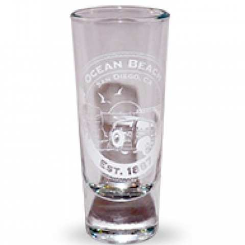 Ocean Beach Product: Ocean Beach Anniversary Shot Glass