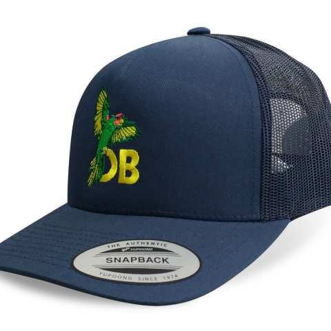 Ocean Beach Product: OB Parrot Trucker Hat