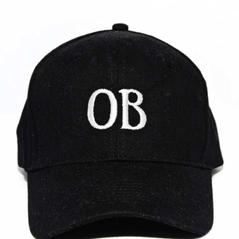 Ocean Beach Product: OB Ballcap, black