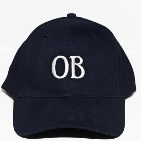 Ocean Beach Product: OB Ballcap, navy blue