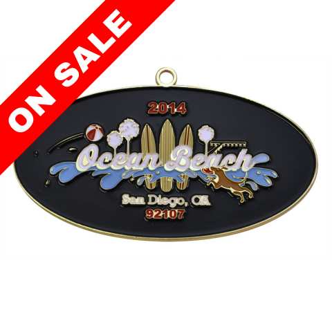 Ocean Beach Product: OB 2014 Ornament