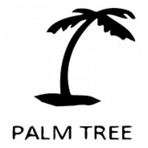 Ocean Beach Product: Tile Symbol: Palm Tree