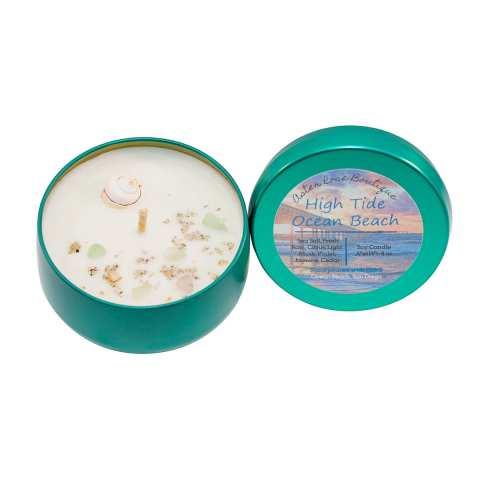 Ocean Beach Product: Soy Candle: High Tide Ocean Beach