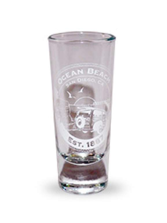 Ocean Beach Product: Ocean Beach Anniversary Shot Glass
