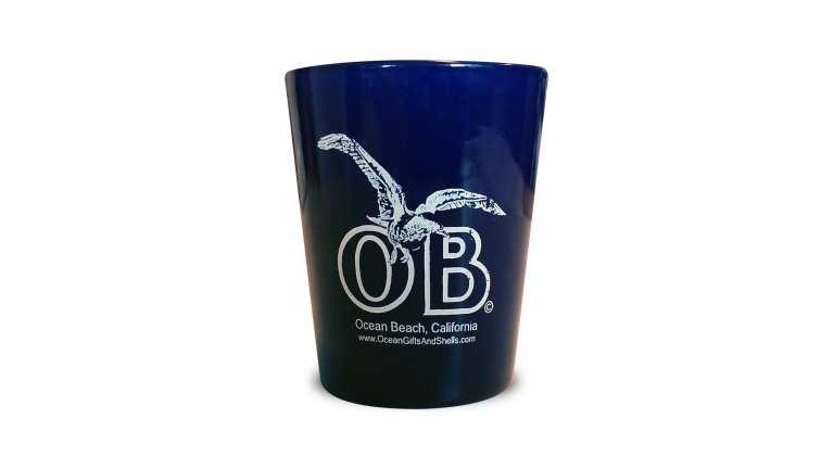 Ocean Beach Product: Ocean Beach Seagull Shot Glass