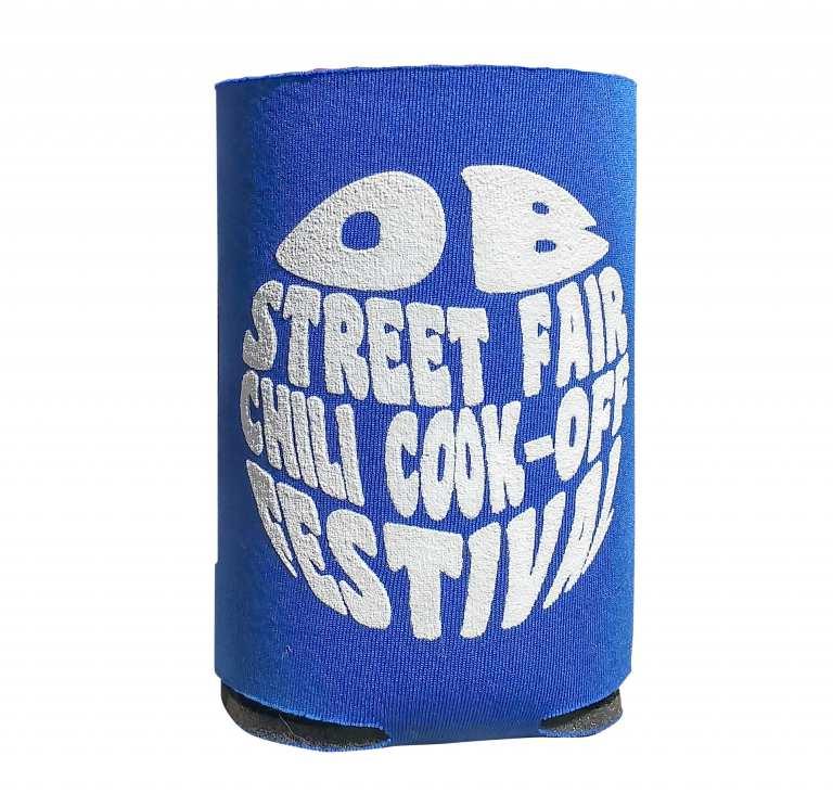 Ocean Beach Product: OB Street Fair & Chili Cook-Off Koozie