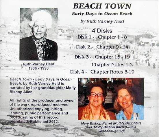 Ocean Beach Product: Beach Town: Early Days in Ocean Beach (audiobook)