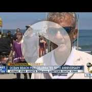 OB Pier 50th Anniversary Celebration ABC 10 Segment with Chuck Bahde - July 2, 2016
